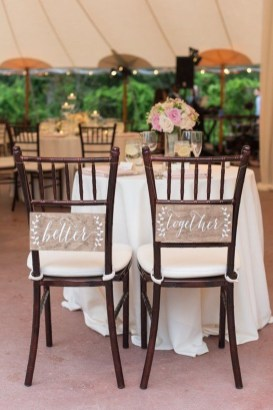 Magnificient Outdoor Wedding Chairs Ideas That Suitable For Couple 17