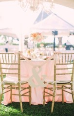 Magnificient Outdoor Wedding Chairs Ideas That Suitable For Couple 22