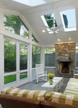 Perfect White Sunroom Design Ideas That Look So Awesome 07