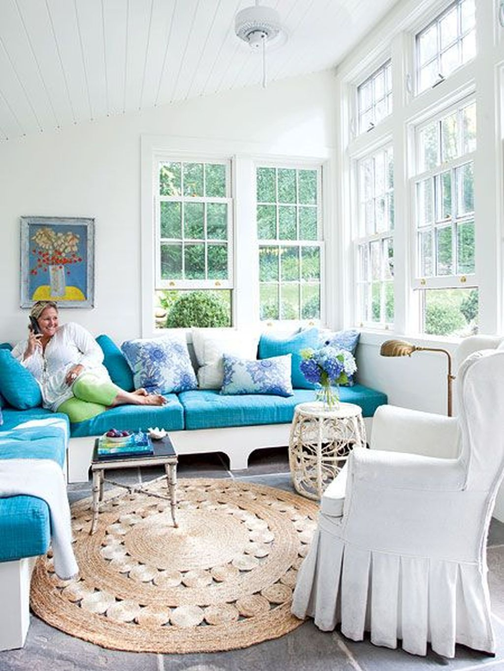 Perfect White Sunroom Design Ideas That Look So Awesome 10
