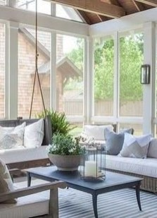 Perfect White Sunroom Design Ideas That Look So Awesome 11