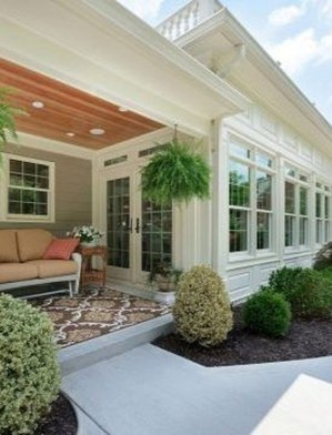 Perfect White Sunroom Design Ideas That Look So Awesome 17