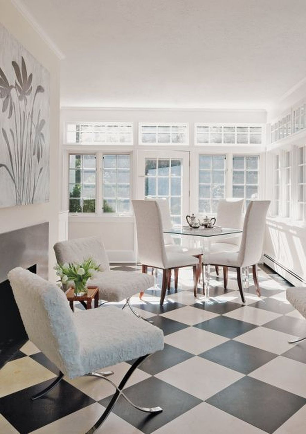 Perfect White Sunroom Design Ideas That Look So Awesome 21