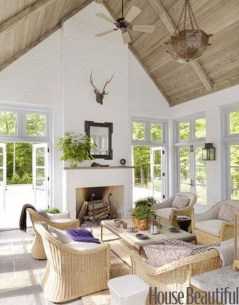 Perfect White Sunroom Design Ideas That Look So Awesome 29