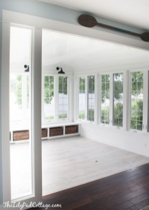 Perfect White Sunroom Design Ideas That Look So Awesome 31