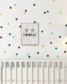 Relaxing Baby Nursery Design Ideas With Polka Dot Themes To Try Asap 22