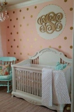 Relaxing Baby Nursery Design Ideas With Polka Dot Themes To Try Asap 24