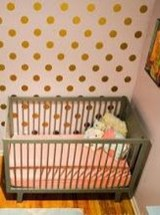 Relaxing Baby Nursery Design Ideas With Polka Dot Themes To Try Asap 29