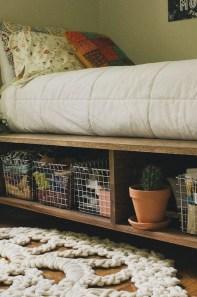 Superb Diy Storage Design Ideas For Small Bedroom 31