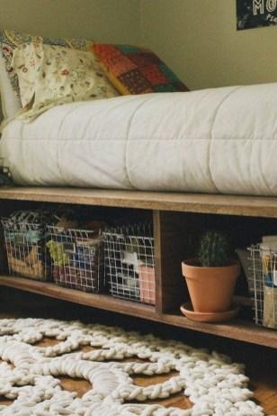 Superb Diy Storage Design Ideas For Small Bedroom 38