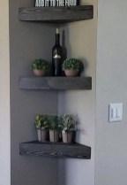 Unique Living Room Floating Shelves Design Ideas For Great Home Organization 21
