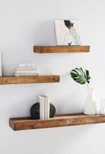 Unique Living Room Floating Shelves Design Ideas For Great Home Organization 32