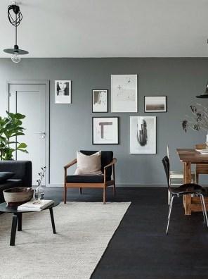 Unusual Black Living Room Design Ideas For More Enchanting 07