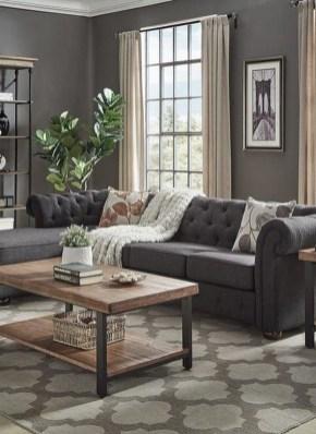 Unusual Black Living Room Design Ideas For More Enchanting 09
