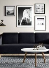 Unusual Black Living Room Design Ideas For More Enchanting 15