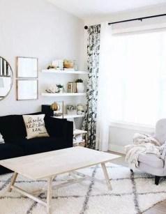 Unusual Black Living Room Design Ideas For More Enchanting 19