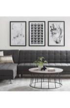 Unusual Black Living Room Design Ideas For More Enchanting 21