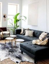 Unusual Black Living Room Design Ideas For More Enchanting 22
