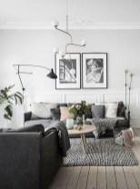 Unusual Black Living Room Design Ideas For More Enchanting 28
