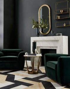 Unusual Black Living Room Design Ideas For More Enchanting 30