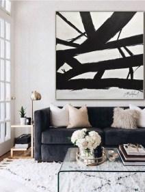 Unusual Black Living Room Design Ideas For More Enchanting 33