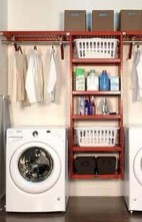 Wonderful Bright Laundry Room Designs Ideas That You Need To Try 04