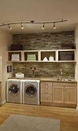 Wonderful Bright Laundry Room Designs Ideas That You Need To Try 06