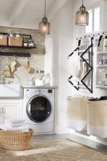Wonderful Bright Laundry Room Designs Ideas That You Need To Try 19