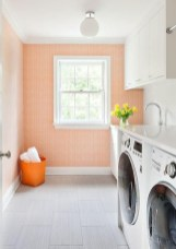 Wonderful Bright Laundry Room Designs Ideas That You Need To Try 29