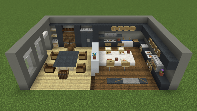 Modern Kitchens In Minecraft