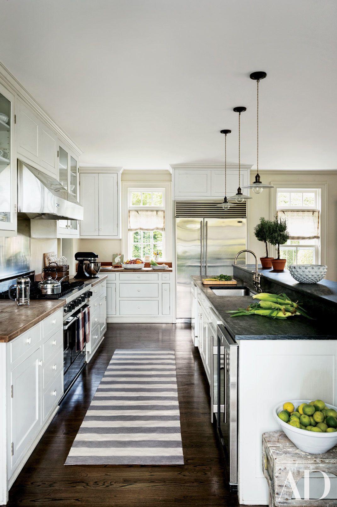 Black White Kitchens Images