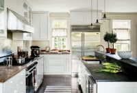 Black White Kitchens Images