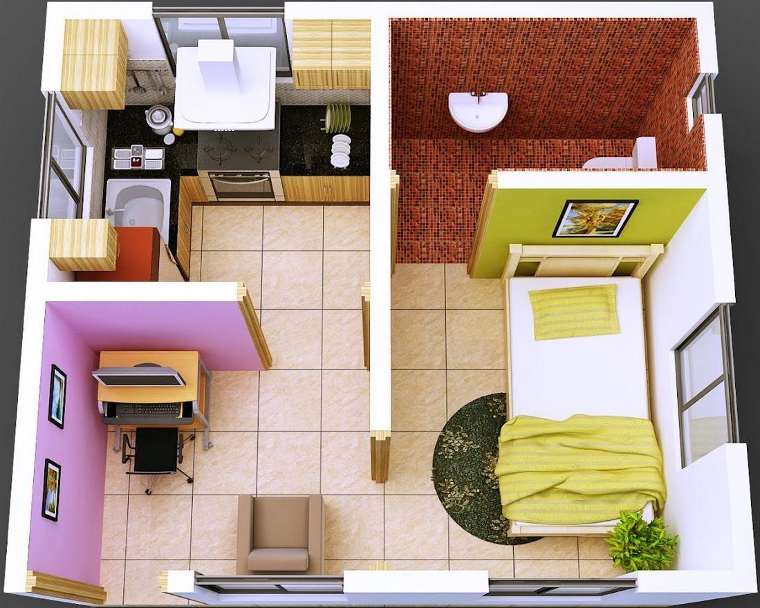 Design Interior Rumah Minimalis 6x15