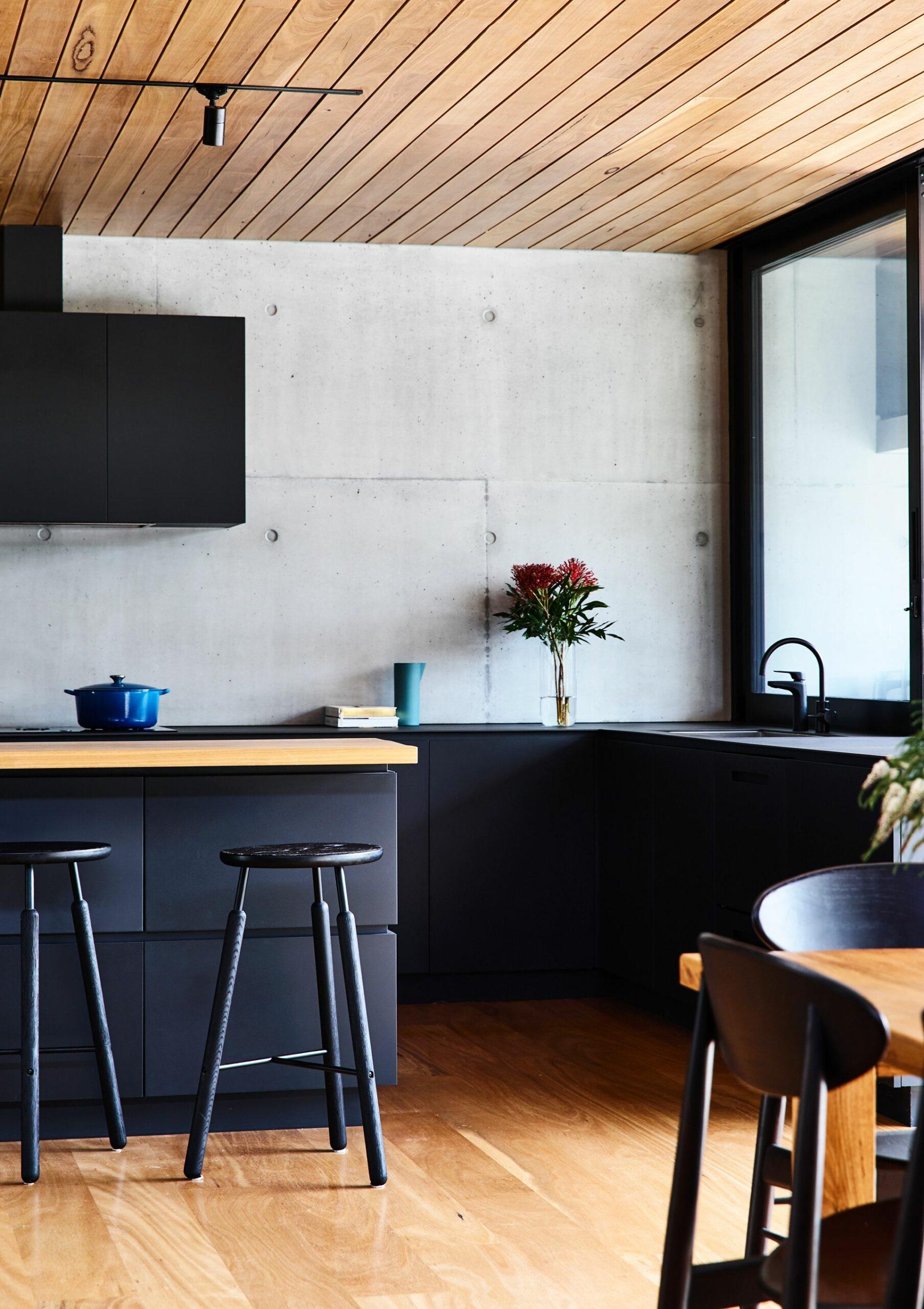 Black Kitchen Stools Australia