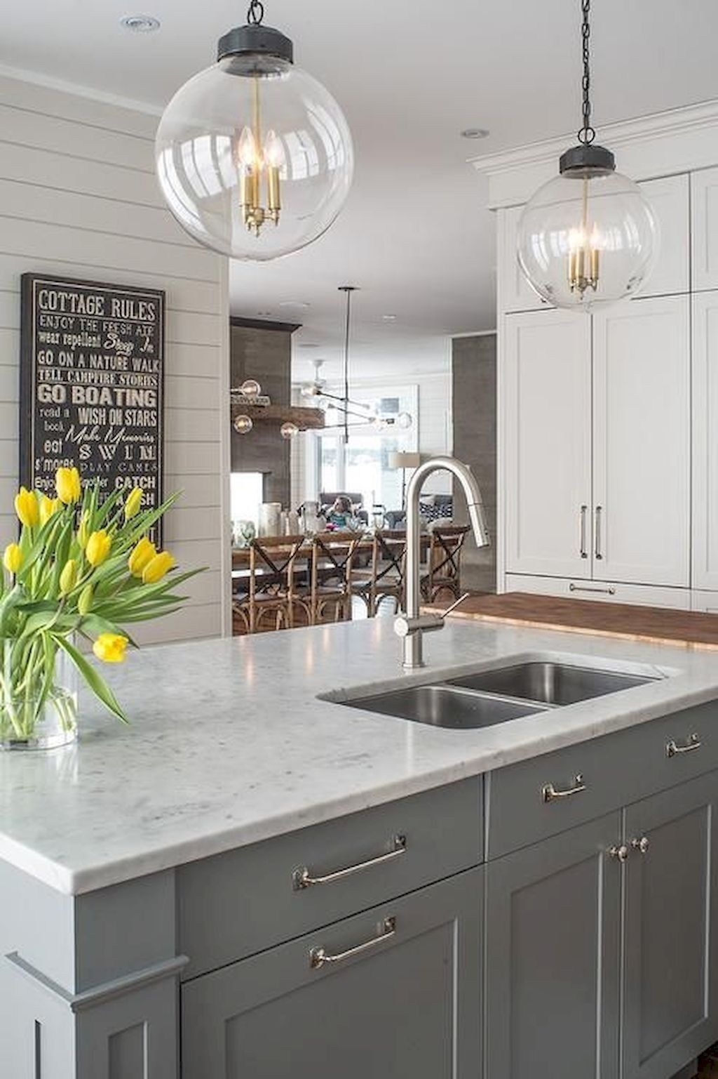 Kitchens With Grey Cabinets Images