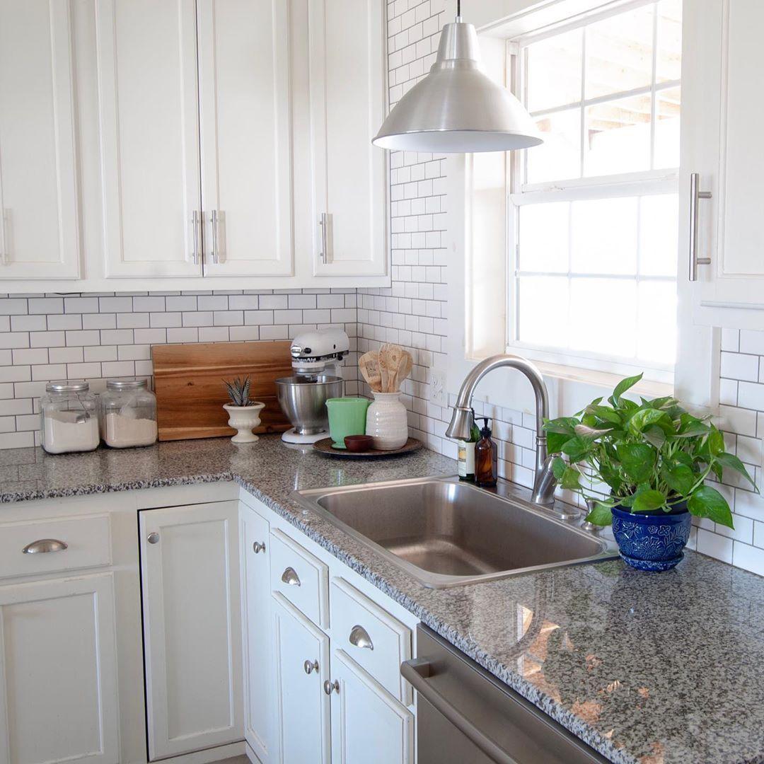 Farmhouse Kitchen White Subway Tile