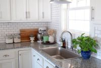 Farmhouse Kitchen White Subway Tile