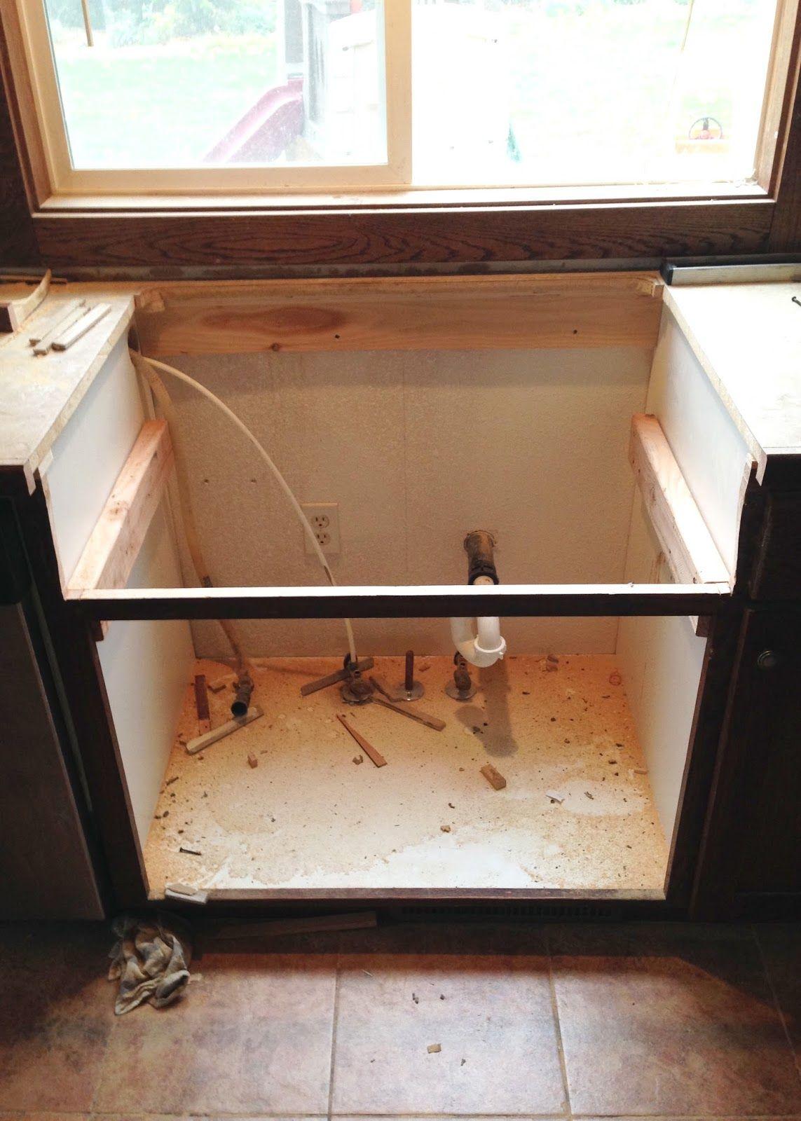 Ikea Kitchen Sink Cabinet Installation