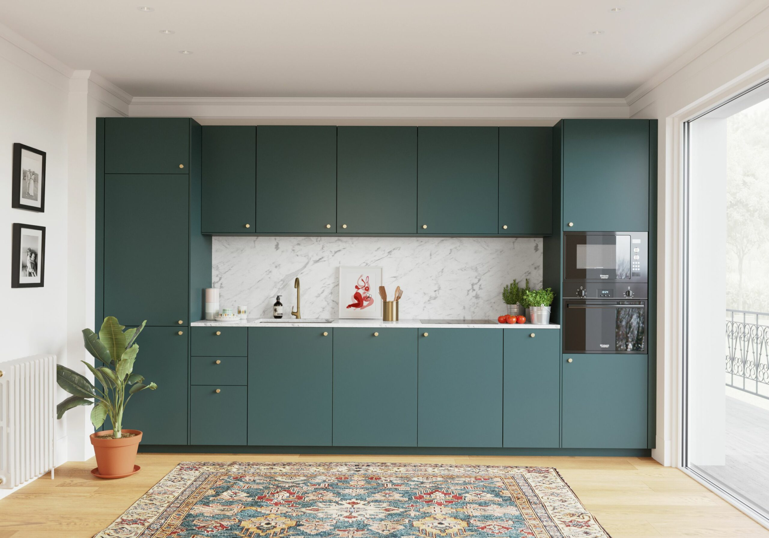 Green Kitchen Cabinets Australia