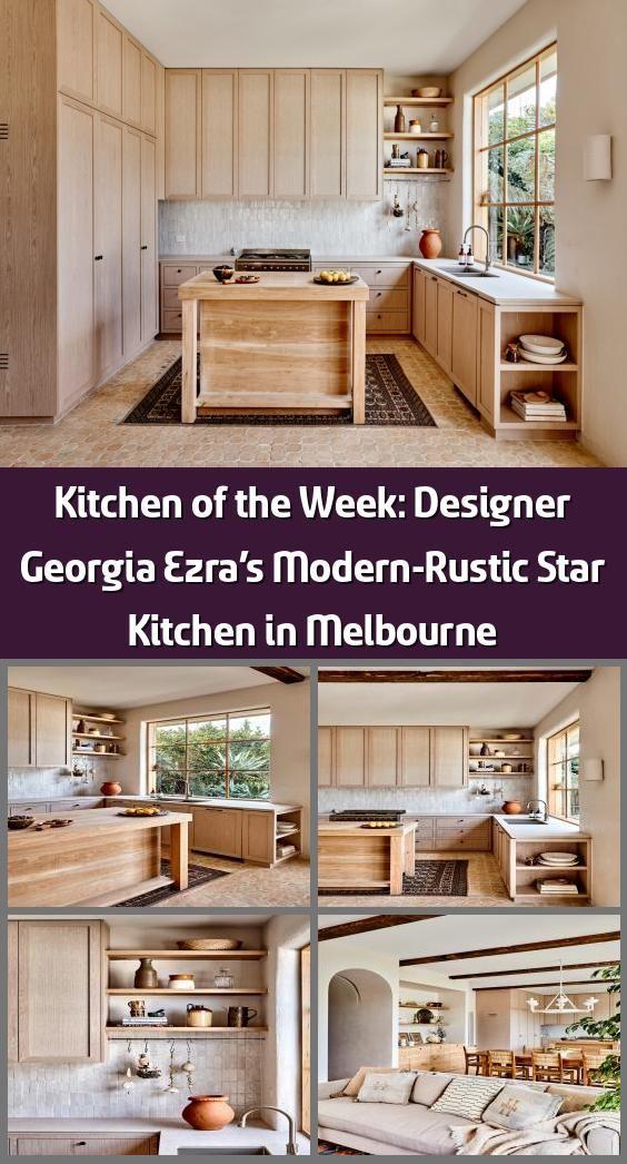 Modern Rustic Kitchens Australia