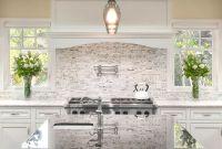 White Cabinets With Black Countertops Backsplash