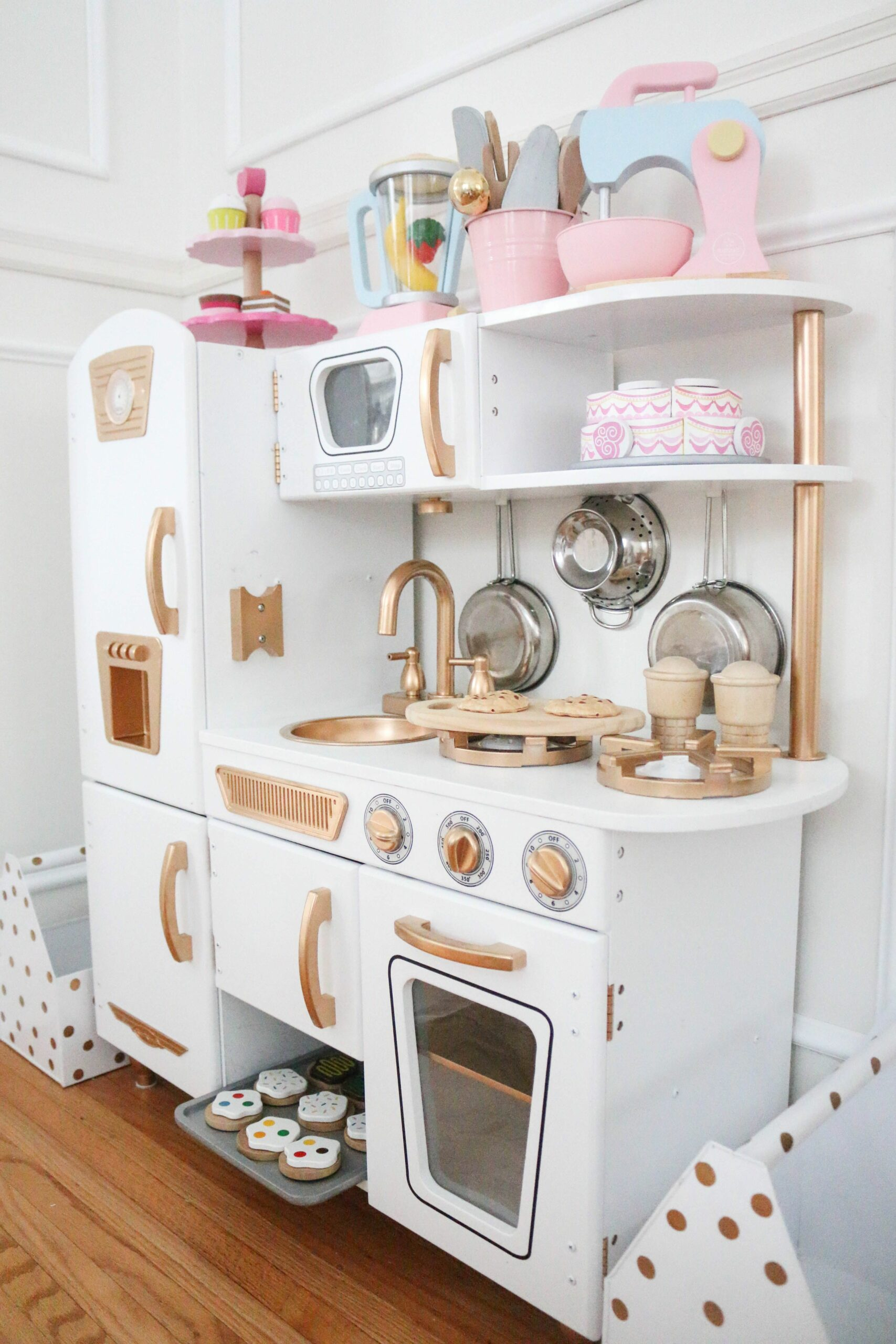 White Kitchen Set For Toddlers
