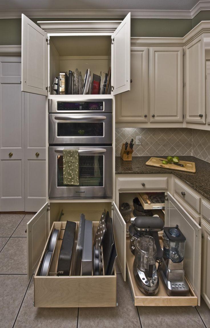 Kitchen Cabinets Storage Options