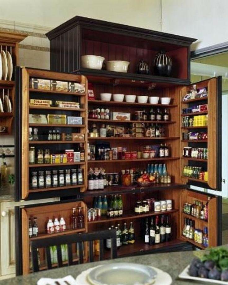 Kitchen Cabinets Storage Idea