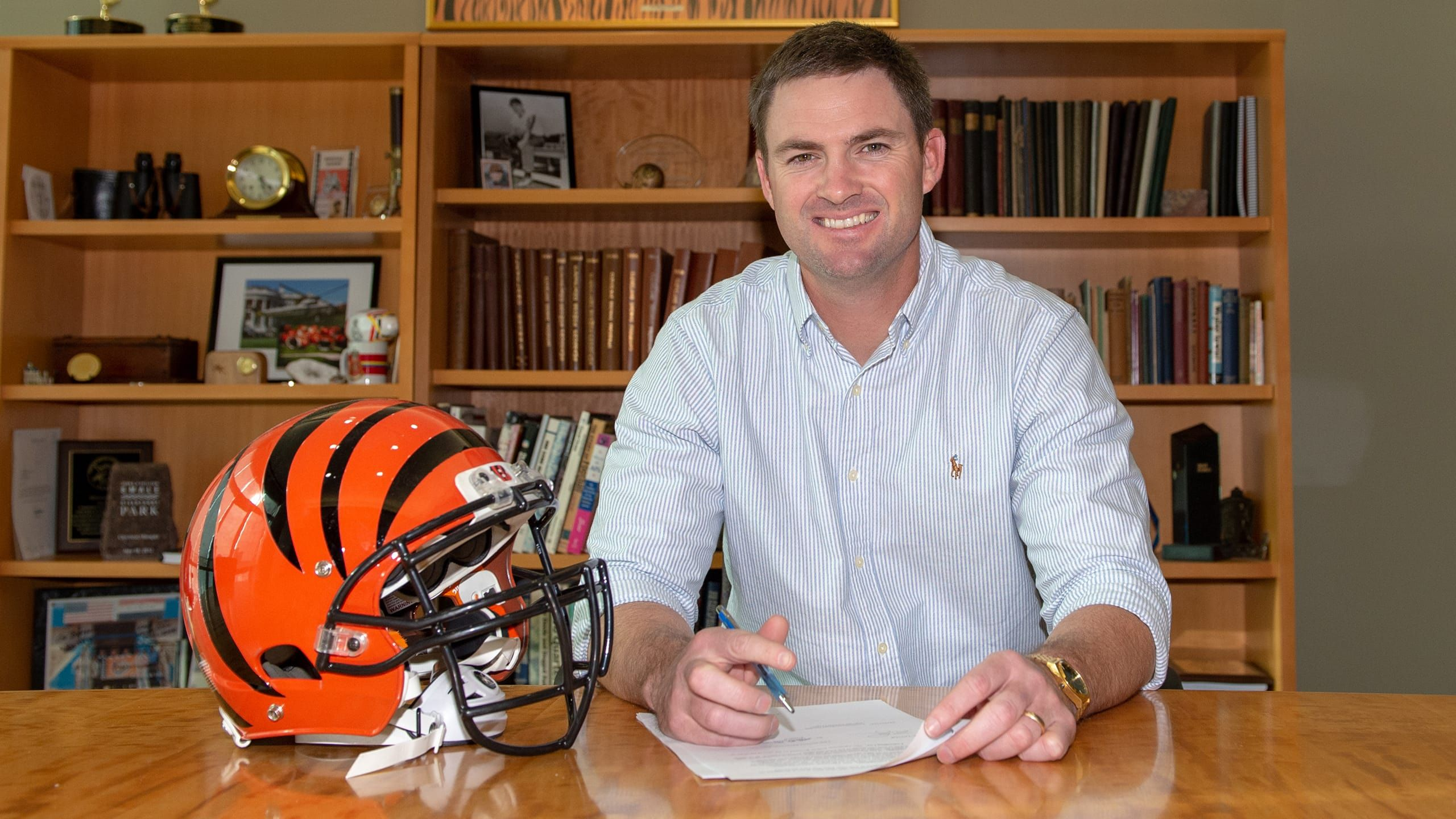 How Long Is Zac Taylors Contract With The Bengals
