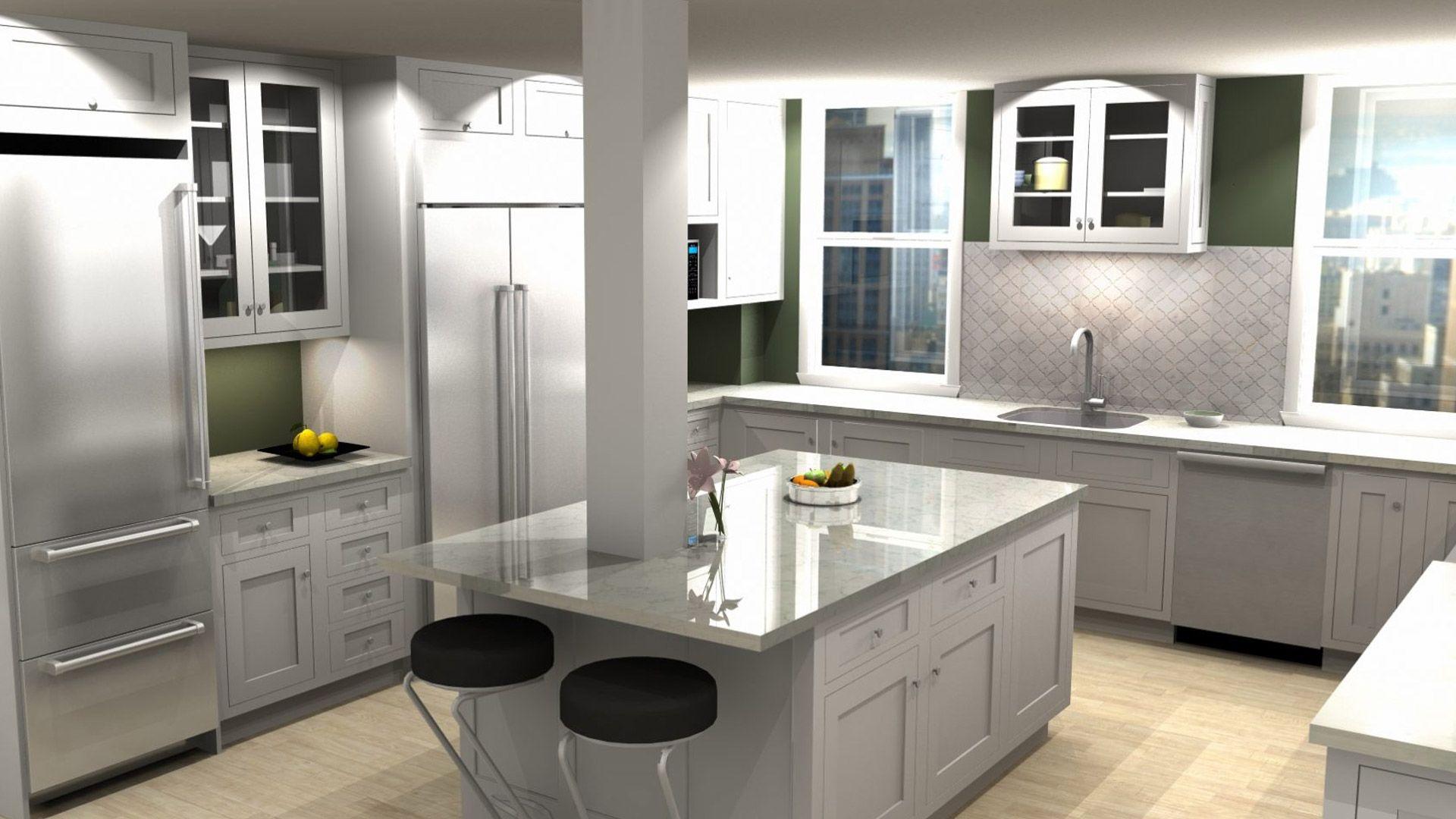 Small White Kitchens 2020