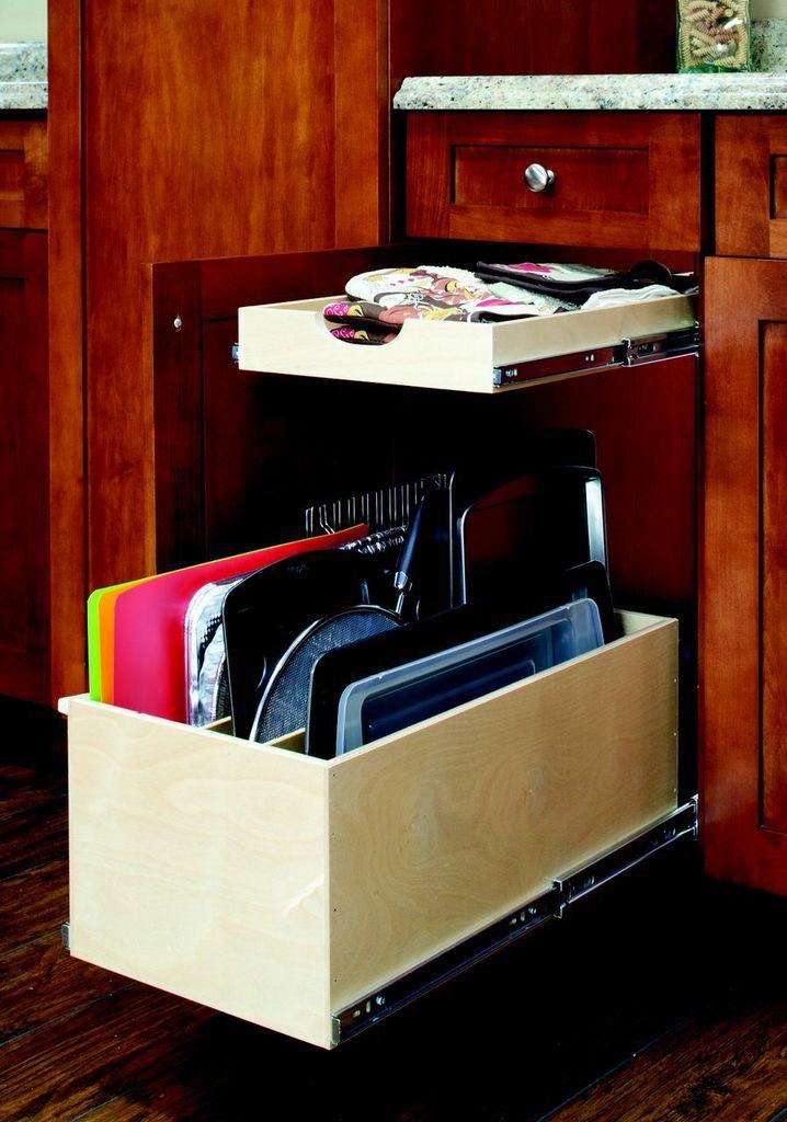 Kitchen Cabinets Storage Drawers