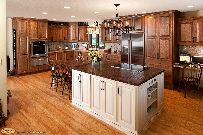 Oak Cabinets Kitchen Colors