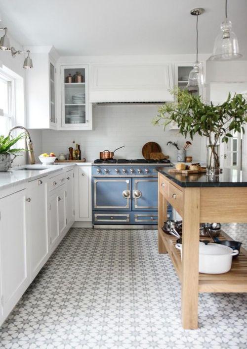 12 Inspiring Modern Farmhouse Designs for the Perfect Kitchen on Farmhouse Tile  id=36542