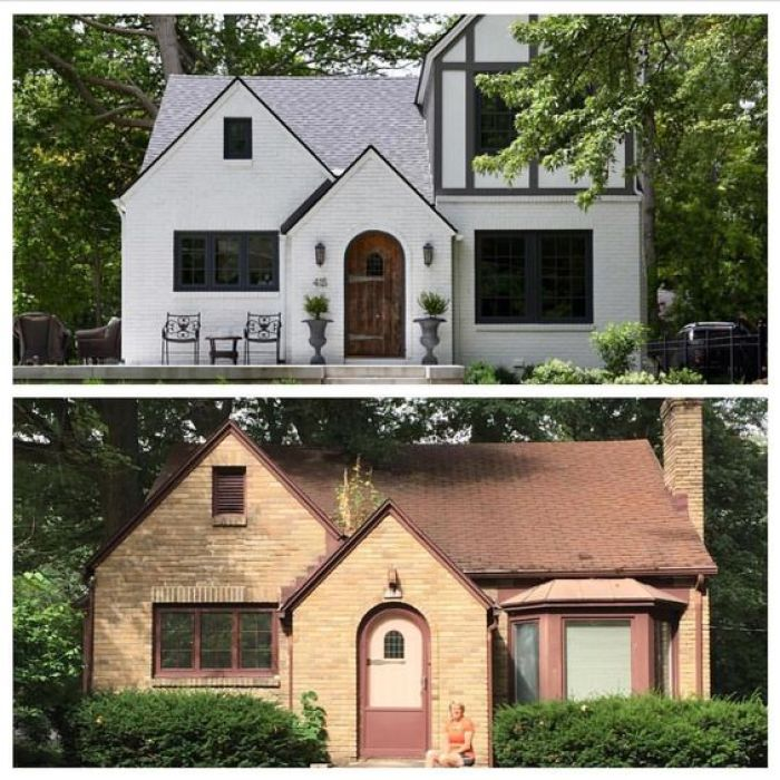 Home Exterior Makeover: Inspiring Before And After Exterior Remodel Projects To